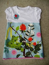 tutorial kleedje met bovenstuk uit t-shirt