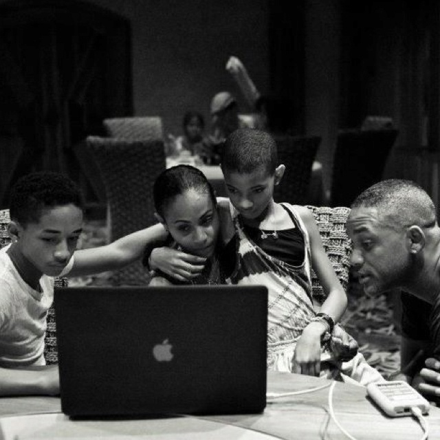 Will Smith, Jada Pinkett-Smith, Jaden Smith, Willow Smith