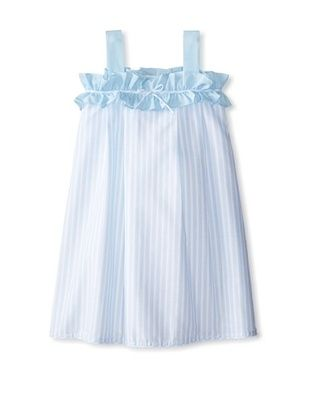 57% OFF Isabel Garreton Girl's Sundress with Ruffle & Bow Detail (Blue)