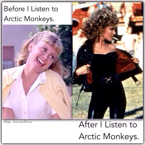 hahaha Arctic Monkeys - Before/After This is so true!