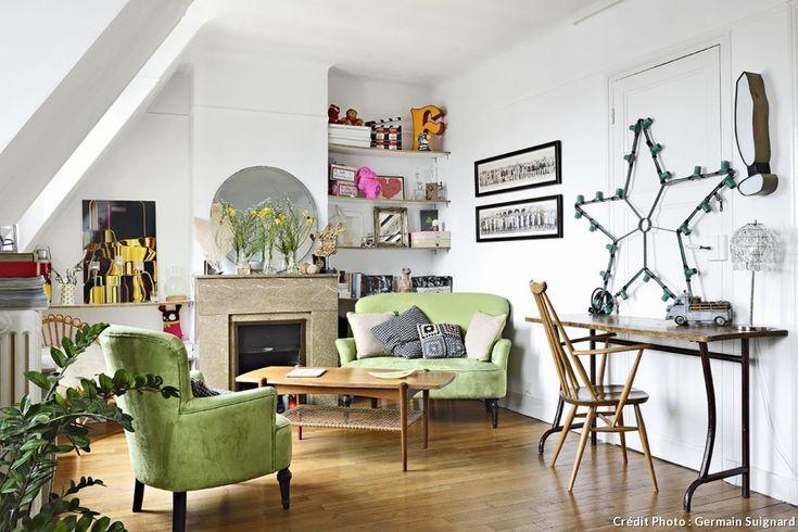 64 best images about french house maison on pinterest for Appartement haussmannien decoration