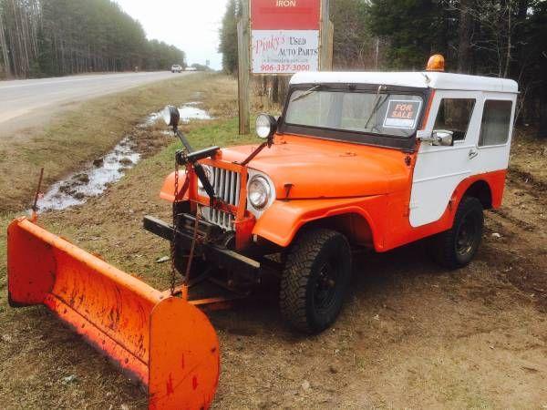 Jeep With Plow For Sale >> 1966-cj5-calumet-mi1   SnowPlows   Pinterest   Jeeps, Jeep cj and Jeep willys