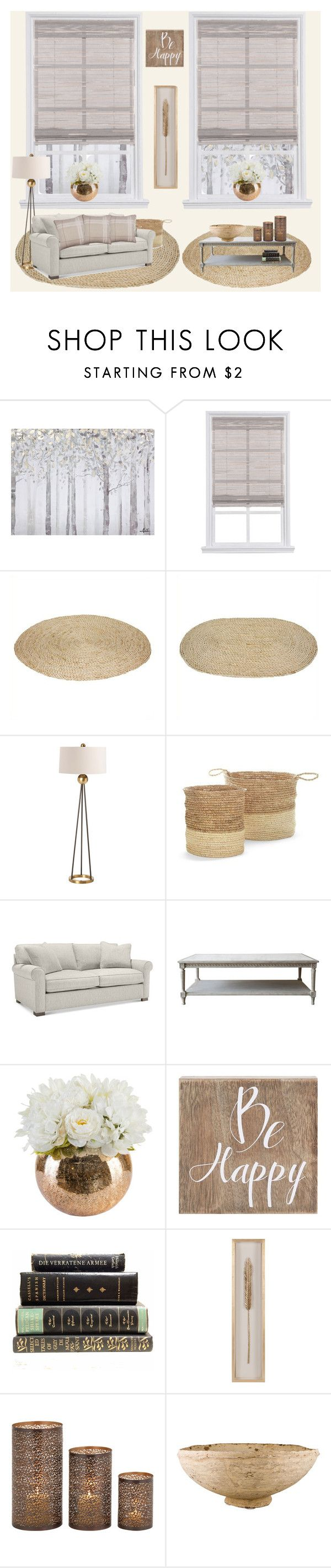 """""""Living room"""" by nadine-b-martin ❤ liked on Polyvore featuring interior, interiors, interior design, home, home decor, interior decorating, Yosemite Home Décor, Arteriors, Pottery Barn and Belle Maison"""