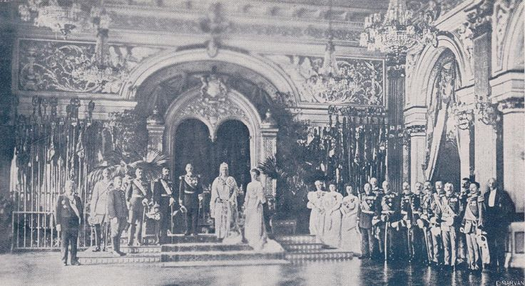 In the Hall of the Throne, during the reign of King Charles ©Illustrated Romania Magazine