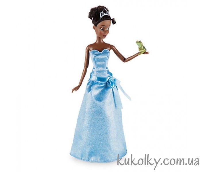 Принцесса Тиана с жабой классическая кукла