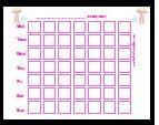 Free potty training charts