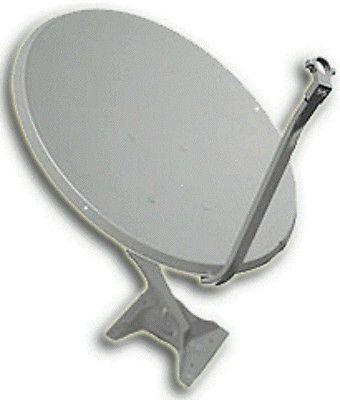 Wyngard Satellite 76cm / 30-inch offset Ku band satellite dish antenna DS-2076 World TV Made in the USA #srethng