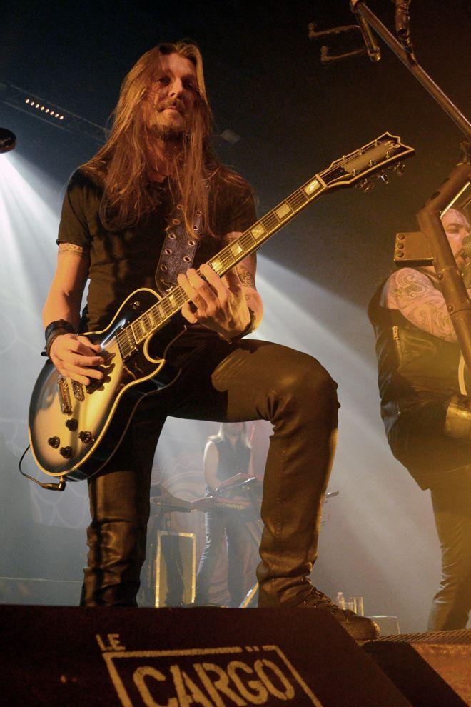 Esa Holopainen (Amorphis), le Cargö. Caen, le 22 novembre 2015 © JB Quentin
