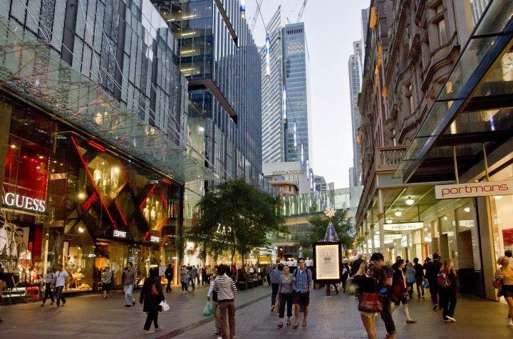 Pitt Street Mall Sydney Luxury