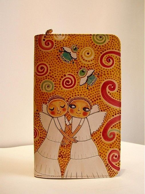 ArtToWear / Peňaženka - Anjelici