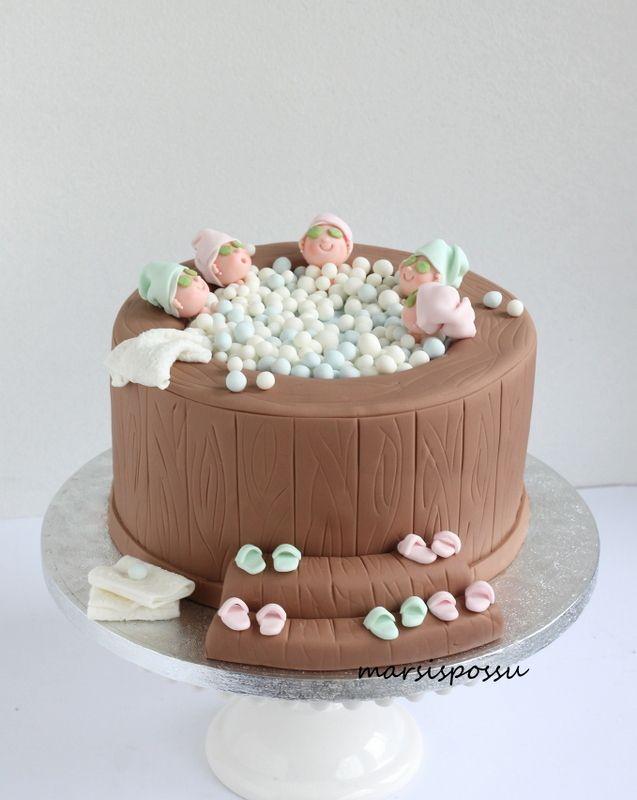 Marsispossu: Poreallaskakku, Hot tub cake