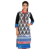 Product details : http://www.sirnmaam.com/women/clothing/kurtis-ladies/white-cotton-kurti-snm-1026/