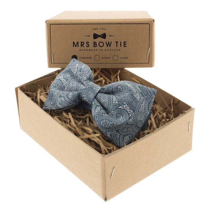 Charles Paisley Bow Tie   From Mrs Bow Tie   Price £22