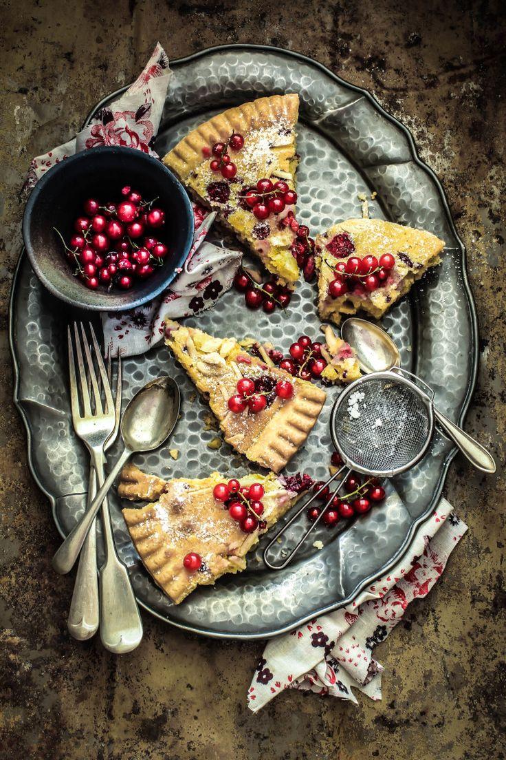 Raspberry & Ginger Frangipane Tart