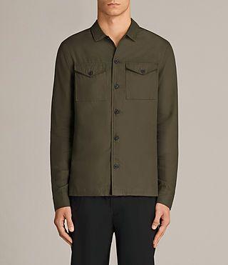 Men's Glendora Shirt (Dark Khaki) - Image 1