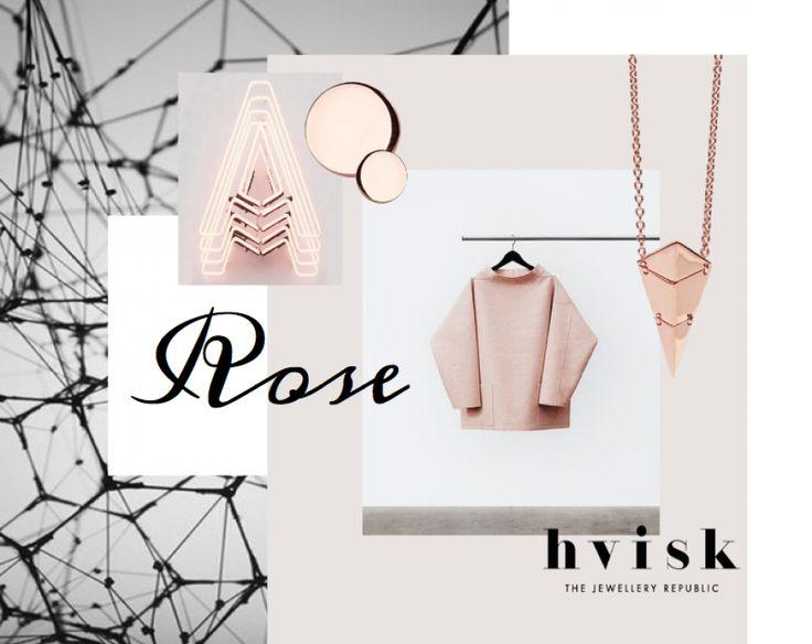 ROSE   See more: http://hvi.sk/r/4APG #hvisk #hvistcreate #fashion #mode #rosegold #smykker #jewellery