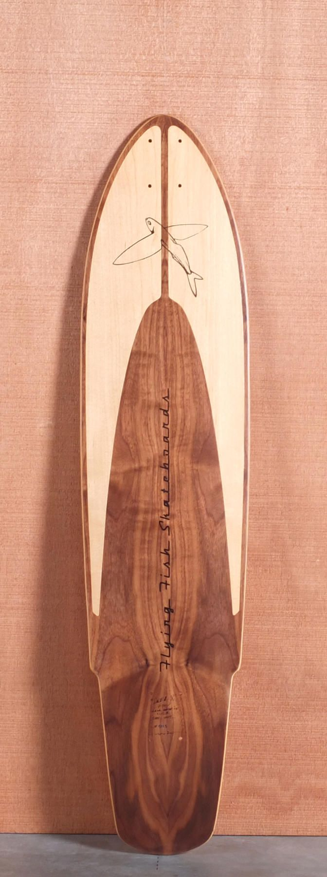 "Flying Fish 42"" Kicktail Longboard Deck..Either this one or the Honey Cruiser. It could go either way..."