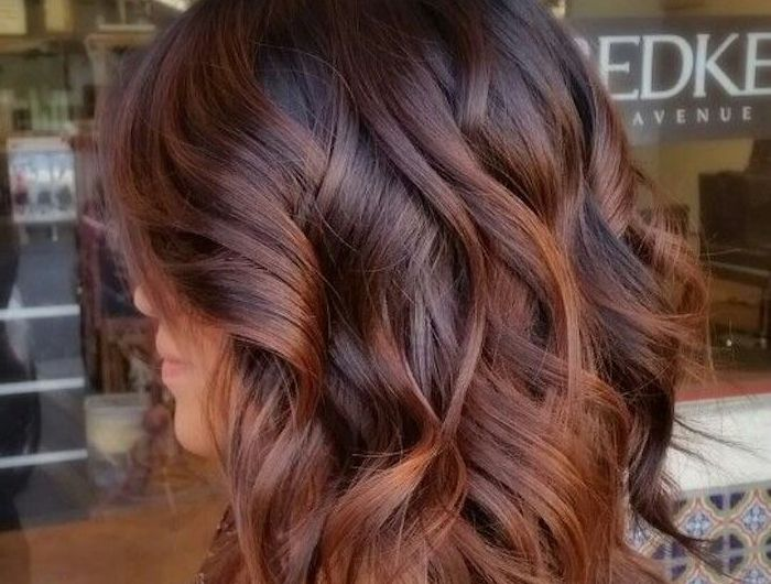 Moderne Haarfarben 2018 Modische Lange Frisuren