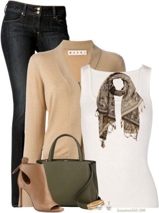 Shawl Collar Cardigan Comfy Fall Outfit