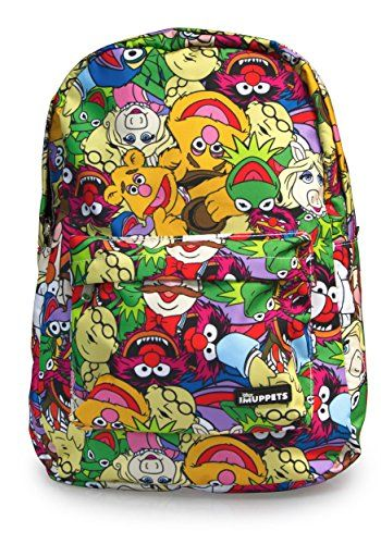 Disney Muppets All Over Print Backpack >>> Click image to review more details.