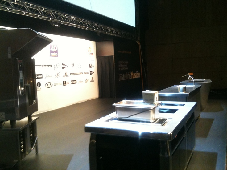 Escenario auditorio Madrid Fusion 2012