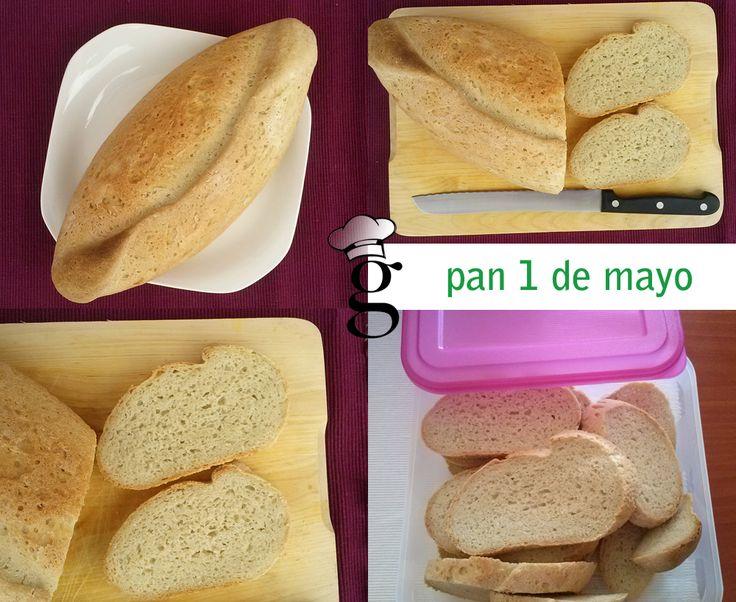 Las recetas de Glutoniana   –  Pan sin gluten 1 de mayo (en panera Lékué)