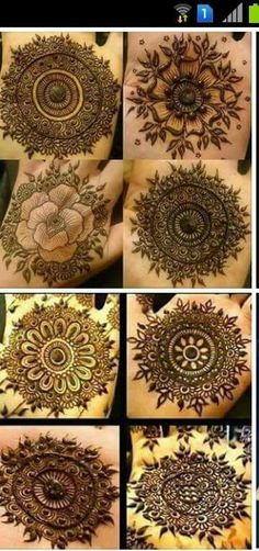 Different mandalas. perfect for simple designs