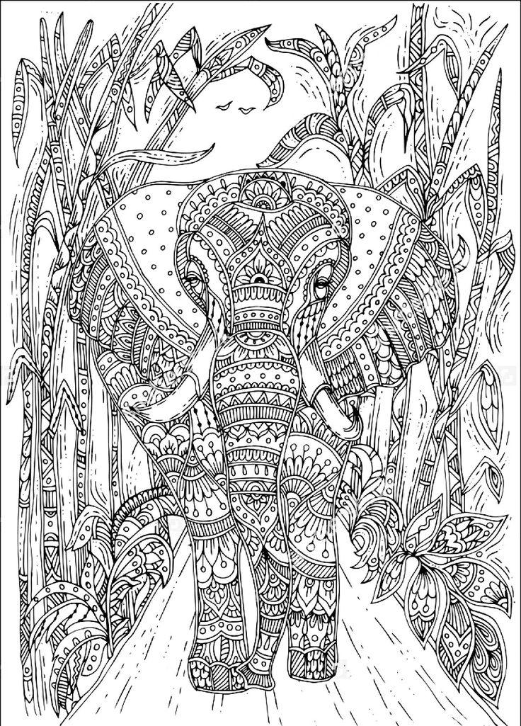 Best 25+ Tribal Elephant Drawing Ideas On Pinterest