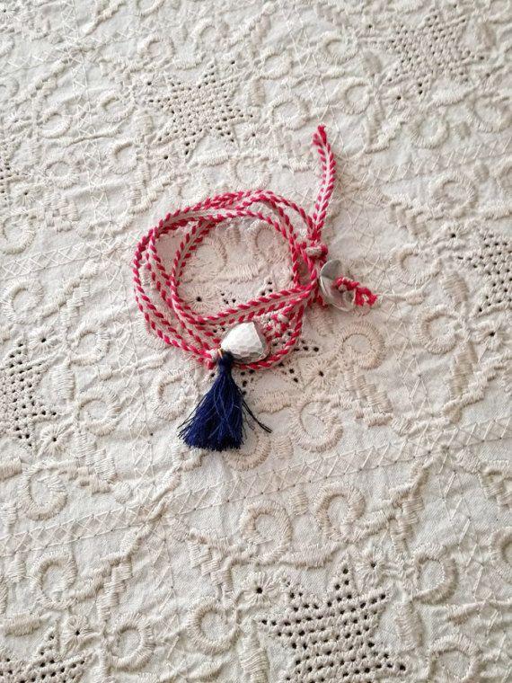 Triple March bracelet traditional March bracelet by ArktosArt