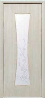 "http://ift.tt/2t4Hxsr #SumyDveri ""Часы"" со стеклом сатин и рисунком (Дуб жемчужный Экошпон)"