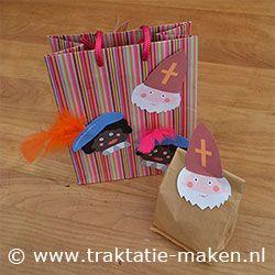 Afbeelding van de traktatie De zak van Sinterklaas