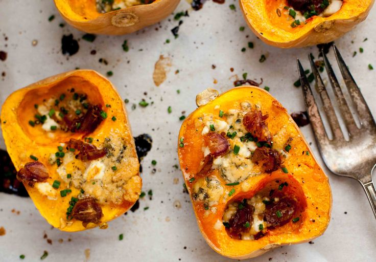 Roasted Maple Butternut Squash with Gorgonzola and Feta | living ...
