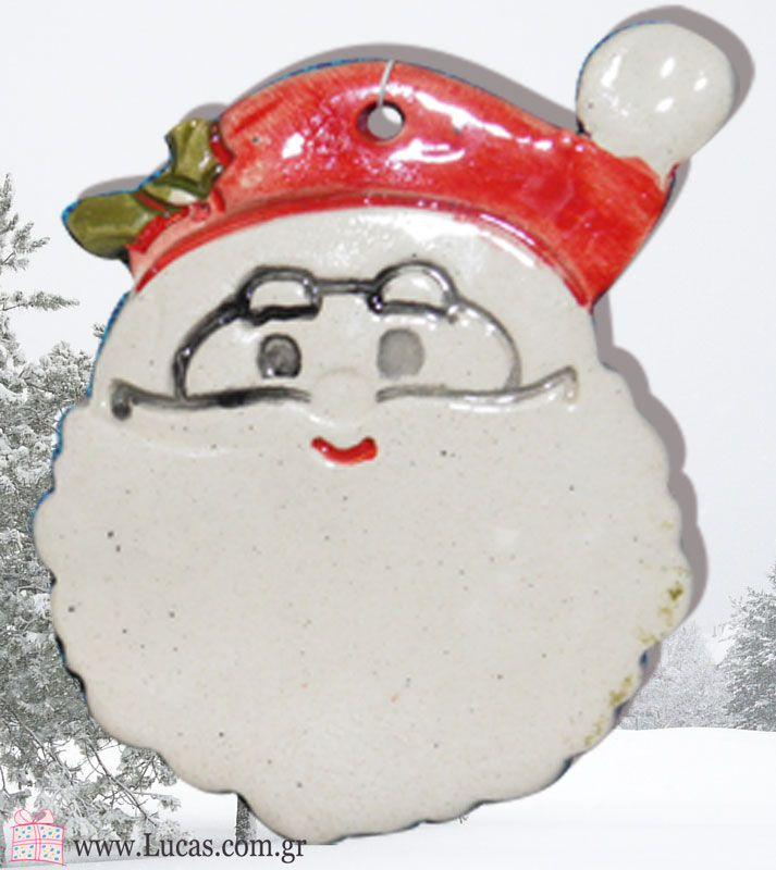 Άγιος Βασίλης κεραμικό