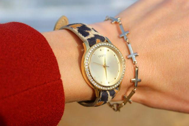 Sprinkles on a cupcake: New in: Guess - Leopard Watch