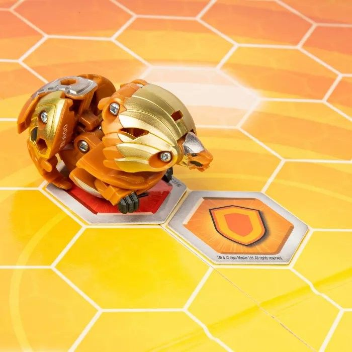 Aurelus Hydorous With A Baku Gear This Is Included In The Bakugan Battle Arena A Product From Bakugan Armored Alliance Which Is Battle Board Games Hexagon Grid
