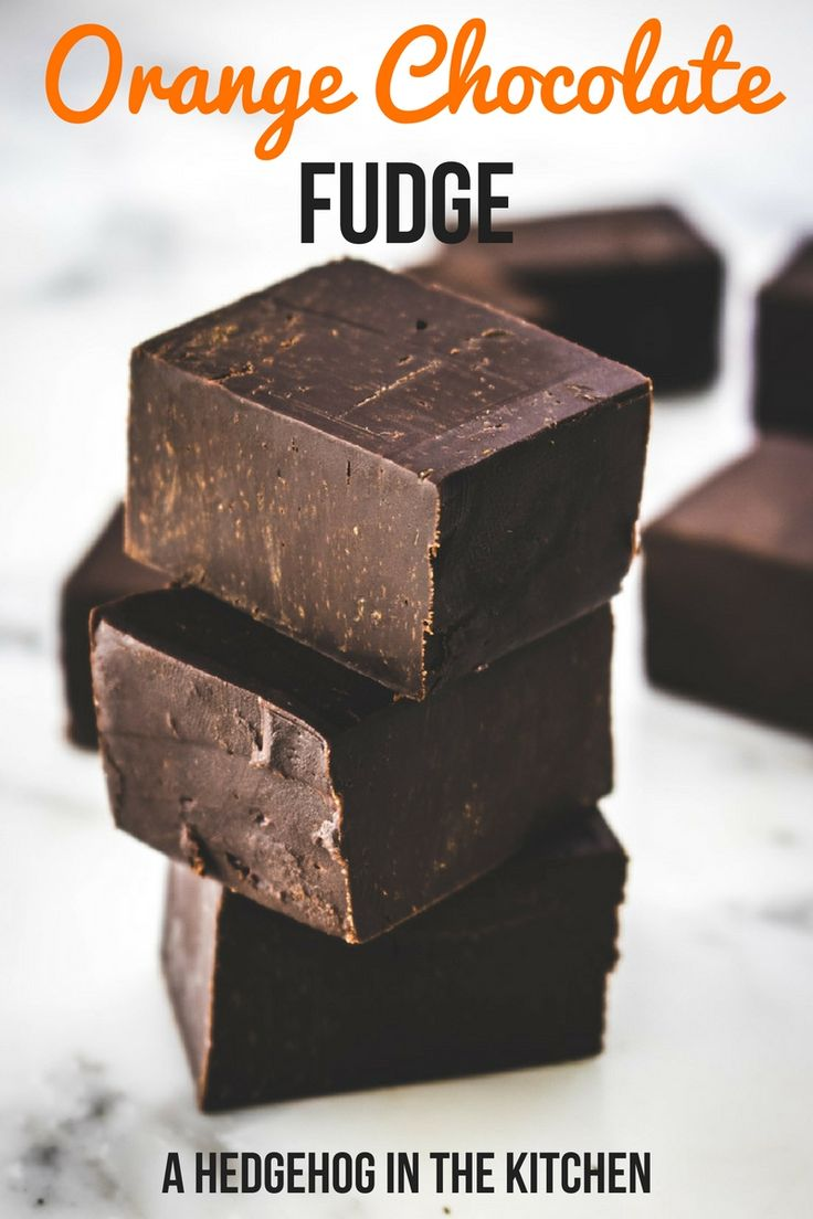 Orange chocolate fudge is the perfect treat for Christmas. Just 4 ingredients and 7 minutes is all you need to make this dreamy treat your reality.
