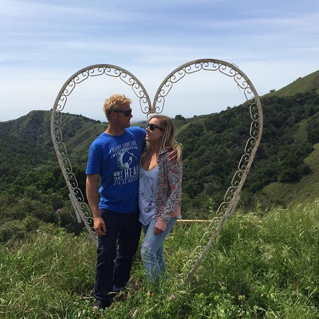 💕❤️Boccy @bethanne_w #searching #love #bigsur #springbreak #calocals - posted by Matt King https://www.instagram.com/king.of.surfing - See more of Big Sur, CA at http://bigsurlocals.com