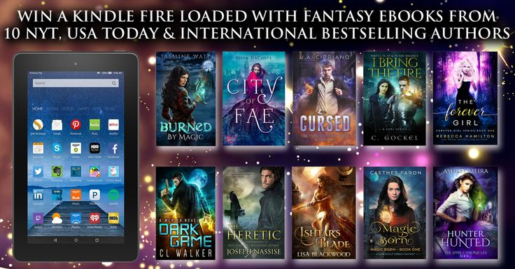 Win a Kindle Fire Loaded with 10 Bestselling New Adult and Urban Fantasy Novels!