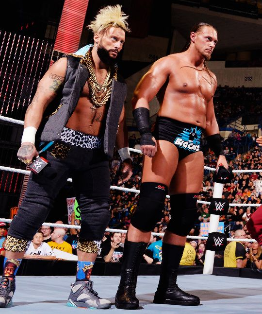 Enzo and Cass for tag champs!