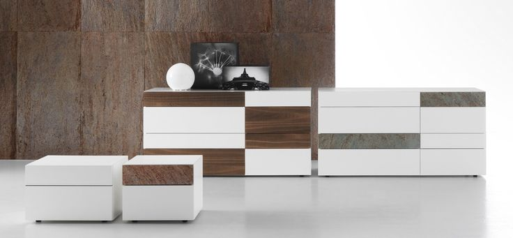 Presotto Wing chest of drawers | Italian Designer Chest | Robinsons Beds