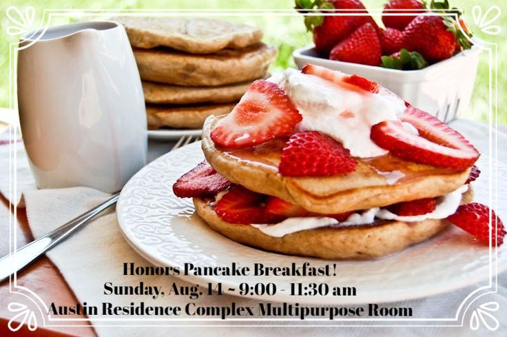 Are you an Honors student that lives on campus? Come this Sunday for an all-you-can-eat pancake and breakfast buffet, plus games, prizes, and giveaways on the half hour! RSVP to honors@kennesaw.edu with your t-shirt size for a free baseball tee!   More info here: https://www.facebook.com/events/844180009051768/