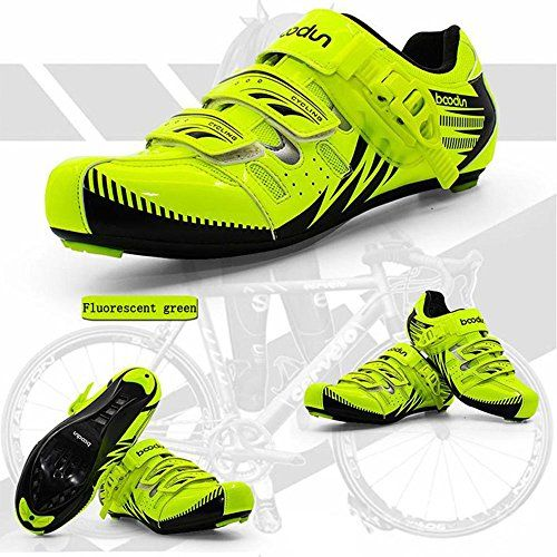 New road bike shoes road bike shoes road bike shoesUS 8EU 41 Fluorescent green >>> Want additional info? Click on the image.