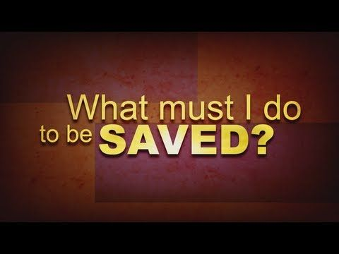 http://www.thetruthabout.net/video/being-saved What must I do to be saved? The answer to this question has implications both now and for eternity. Sadly, wrong answers are being given all the time. In this study, Don Blackwell opens the Bible and shares with us God's answer to this question. It is a simple, straight-forward study done in a kind and loving manner. With a question of this magnitude, you cannot afford to be wrong. Won't you join us for this vital study?