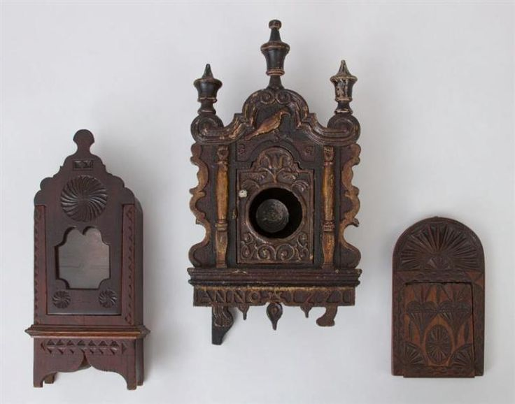 Buy online, view images and see past prices for TWO CARVED WOOD WATCH STANDS AND A SMALL CASED MIRROR. Invaluable is the world's largest marketplace for art, antiques, and collectibles.