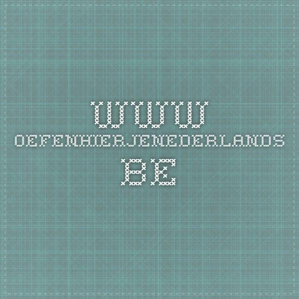 www.oefenhierjenederlands.be