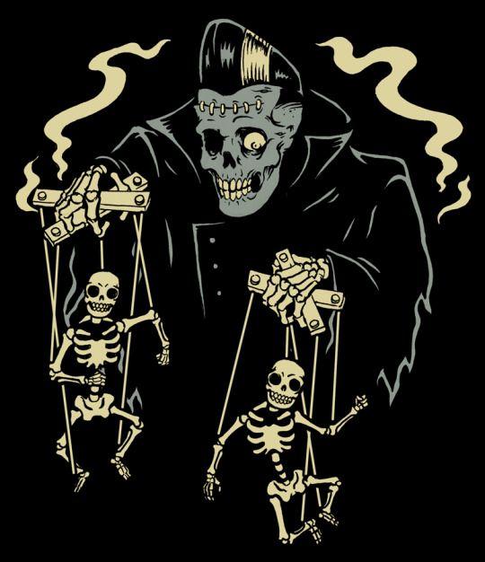 Psychobilly art by HorrorRudey