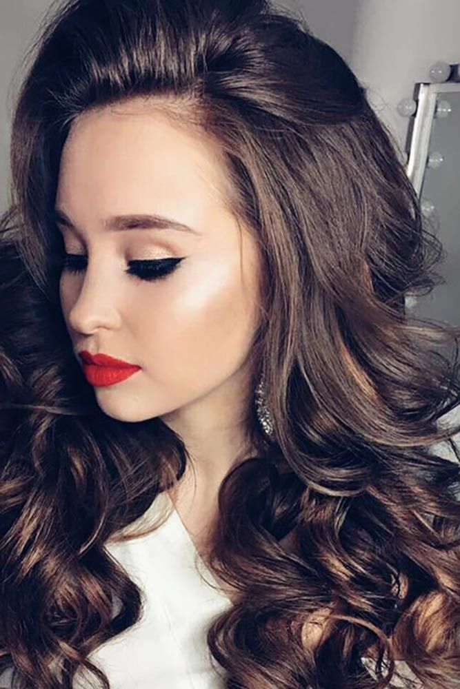 homecoming hair down styles 17 best ideas about prom hairstyles on 1035 | 59d85918e6d6abf8efe0a1a82b3220fc