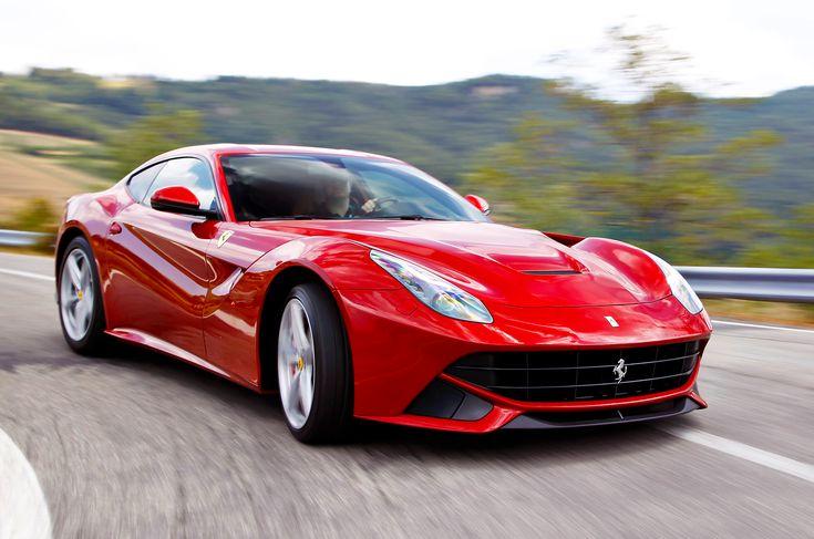 Ferrari F12 Berlinetta, I'll take you in cobalt blue