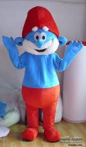 Papa Smurf Adult Sized Costume For Children's Parties!  Fun Factory Costume Rentals - rent costumes from fun children's TV shows and movies like The Smurfs!   #CostumeRental #Smurfs #Party Birthday Party Mascot Rentals