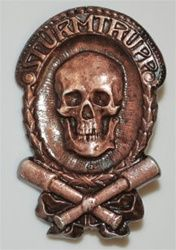Imperial Storm Troop Badge from Hessen.